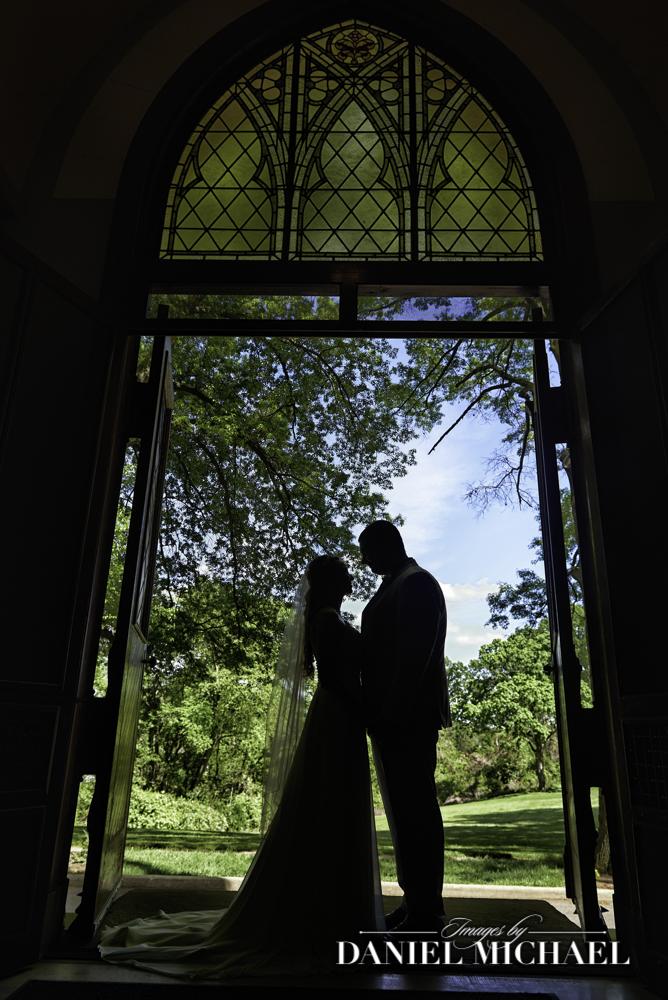 St Clare Dramatic Wedding Photography Doorway