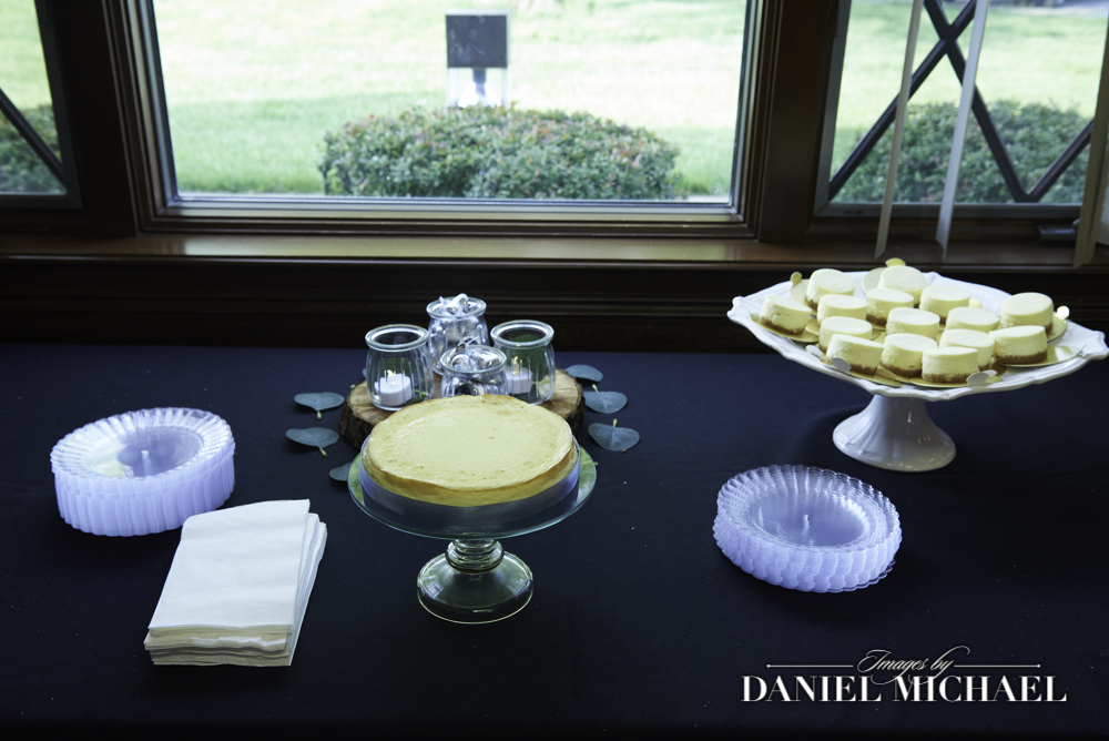 Wedding Cheescake Dessert Table