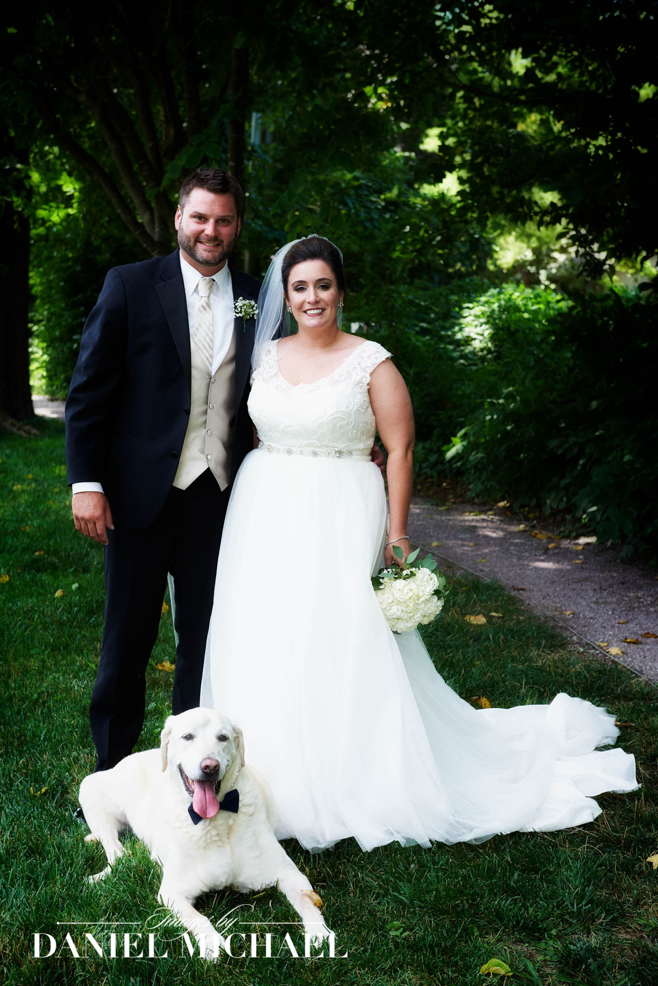 Wedding Photography with Dog