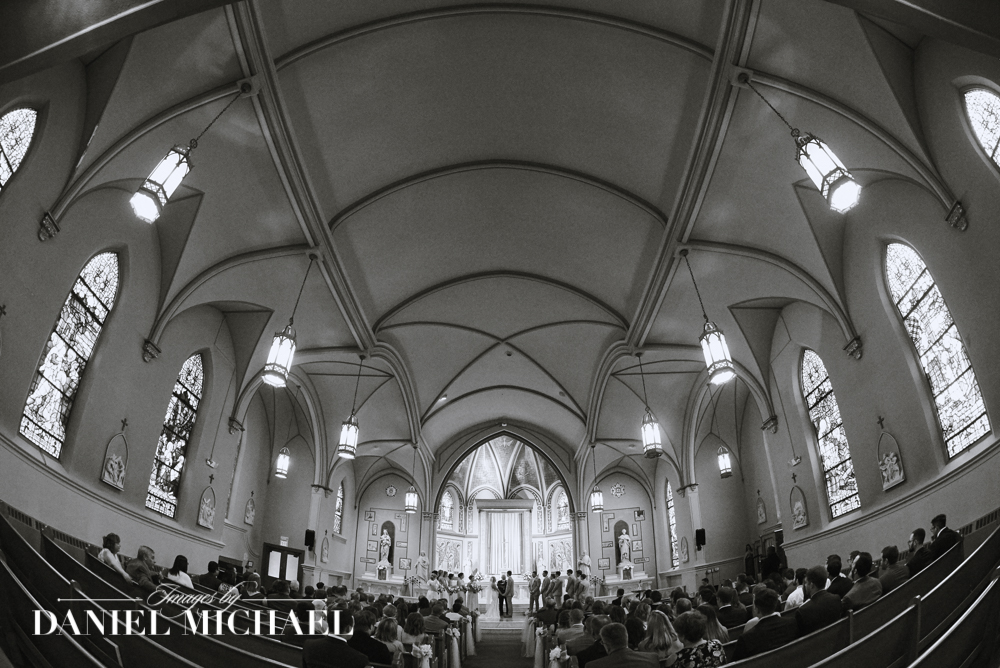 St Aloysius Chapel Wedding Ceremony