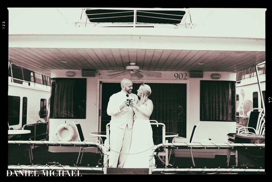 Wedding Photography on Houseboat