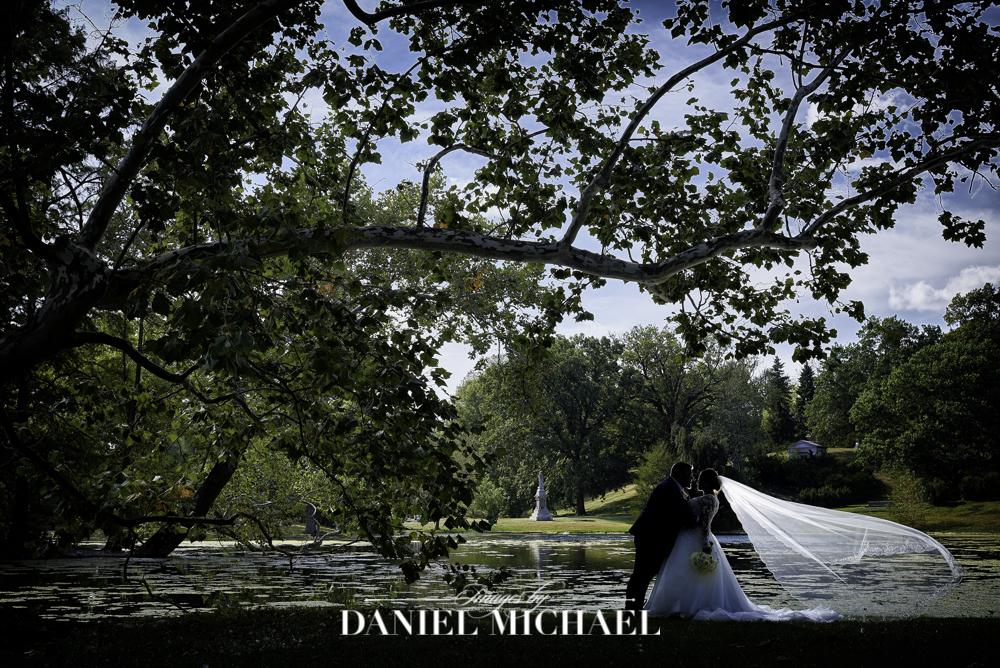 Spring Grove Cemetery Wedding Photographer