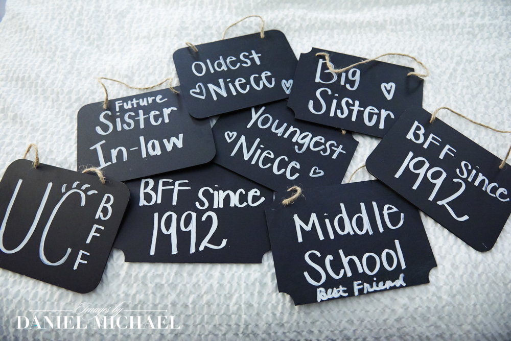Bridesmaids Signs for Wedding