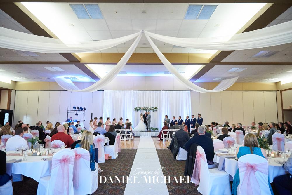 Oasis Loveland Indoor Wedding Ceremony
