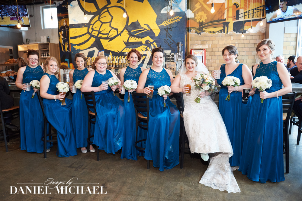 Braxton Brewing Company Wedding Photography
