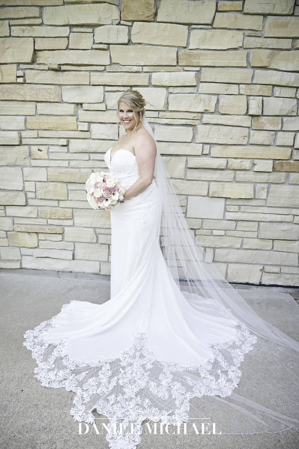 White Wisteria Bridal Gown Photos