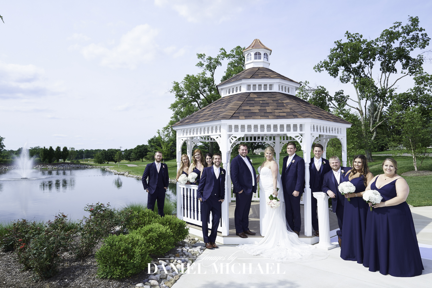 Oasis Gazebo Wedding Photography Cincinnati