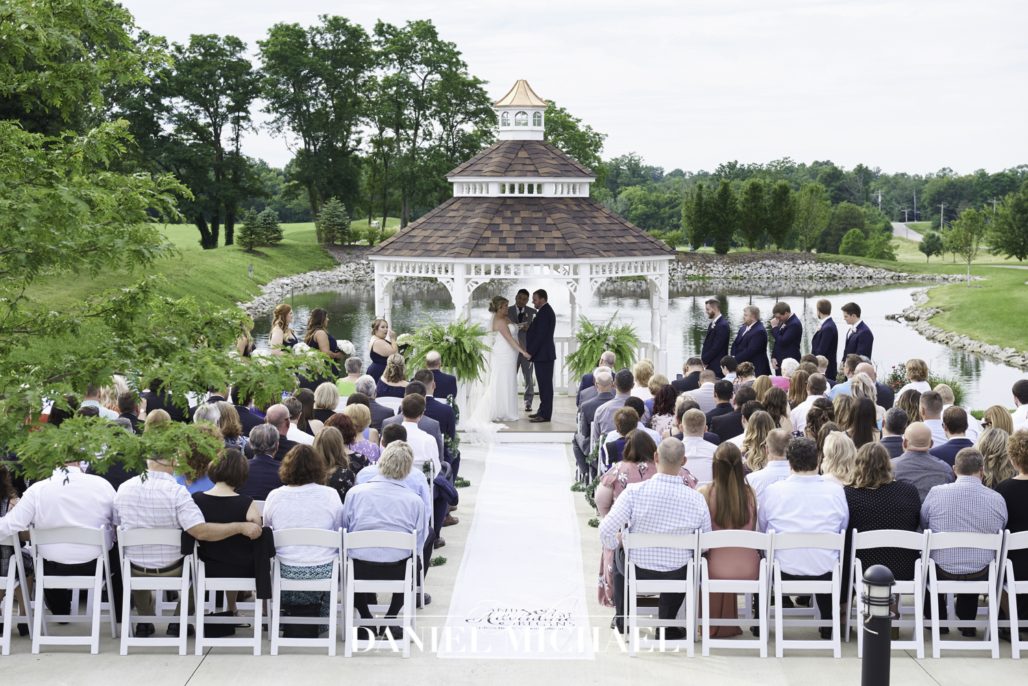 Gazebo Wedding at Oasis Event Center