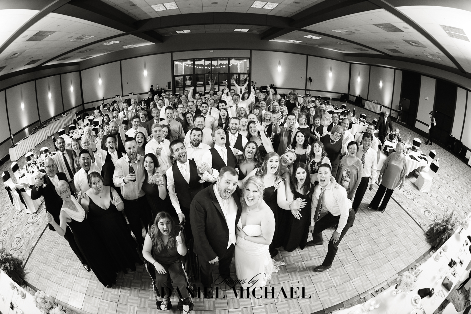 Group Photo Wedding Reception Photography
