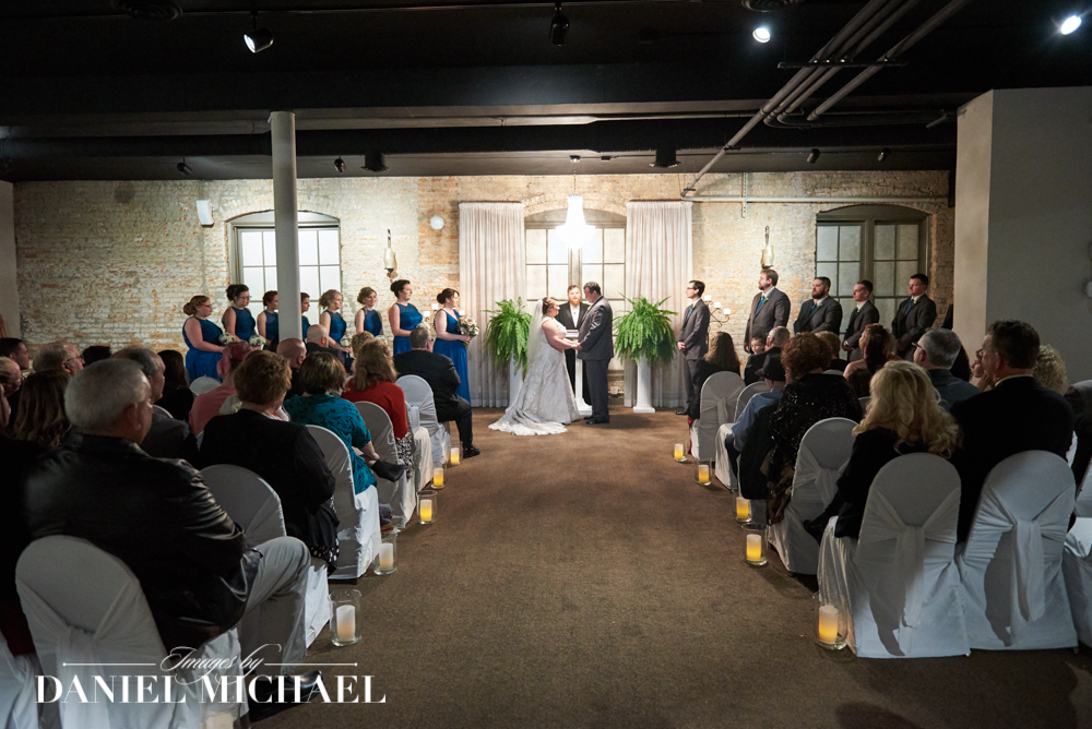 Madison Loft Wedding Ceremony