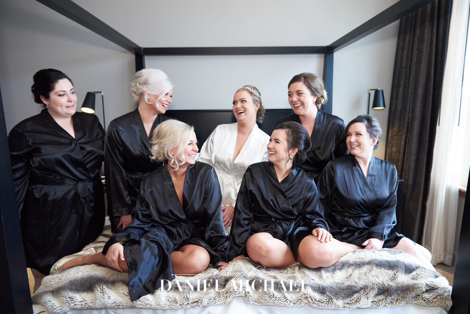Bridesmaids Robes Photography