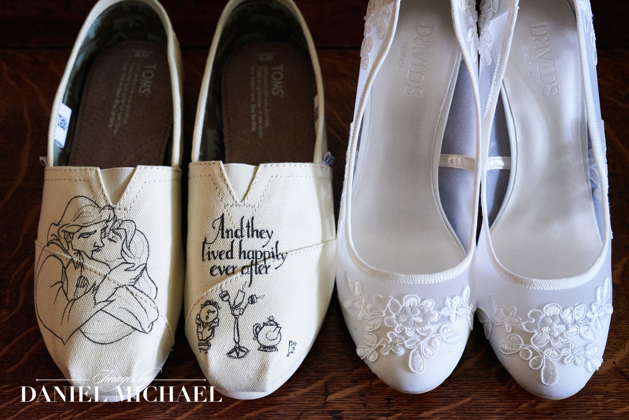 Wedding and Reception Shoes