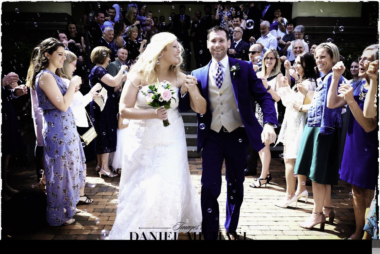 Bubble Exit Wedding Photography