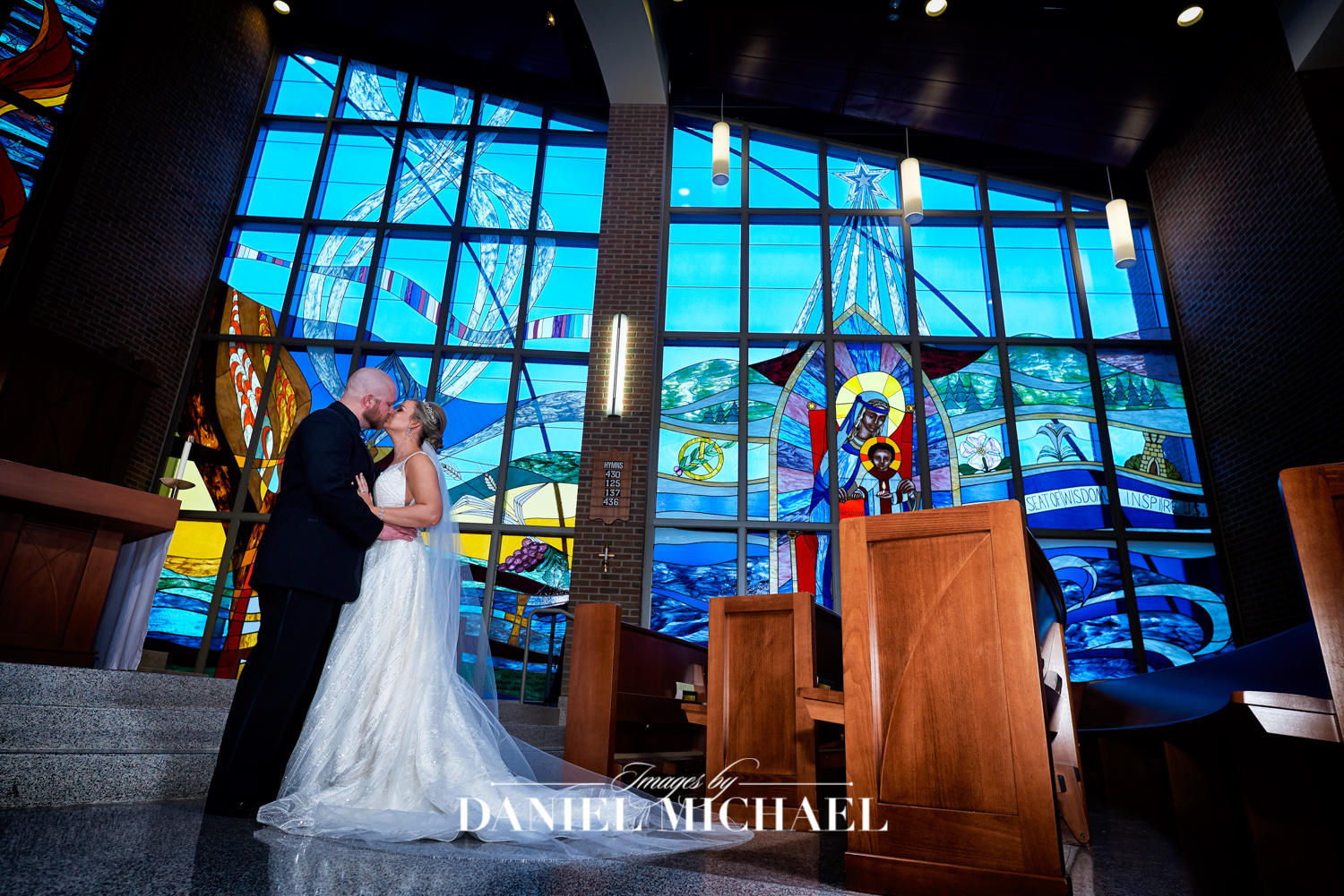 Thomas More-Mary Seat of Wisdom Chapel Wedding