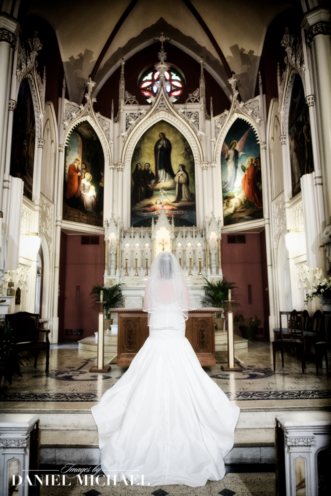 Holy Cross Immaculata Wedding Ceremony
