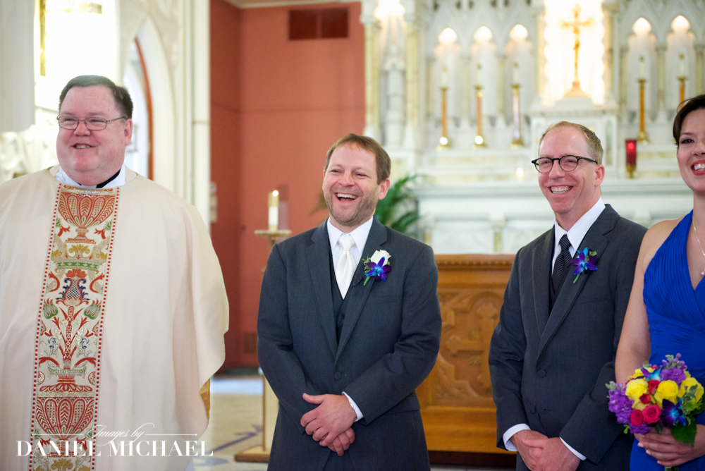 Wedding Photography Grooms Expression