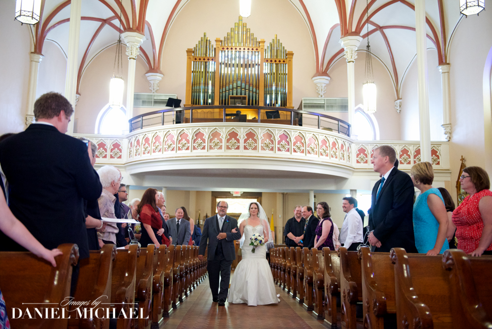 Holy Cross Immaculata Wedding Photographers