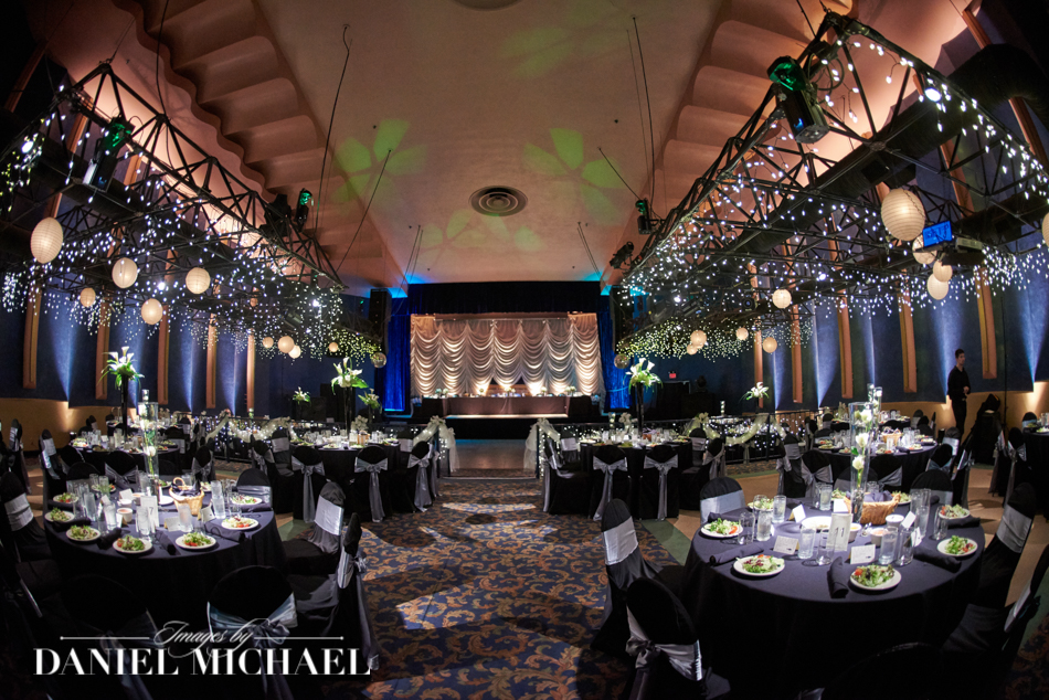 20th Century Theater Wedding Reception