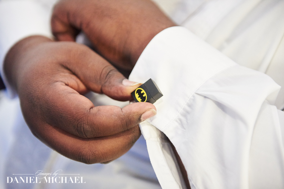 Wedding Photography Batman Cufflinks