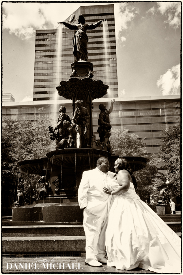 Wedding Photographers Fountain Square