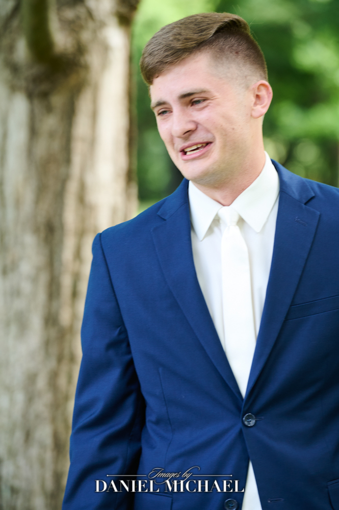 Wedding Photography Groom Expression
