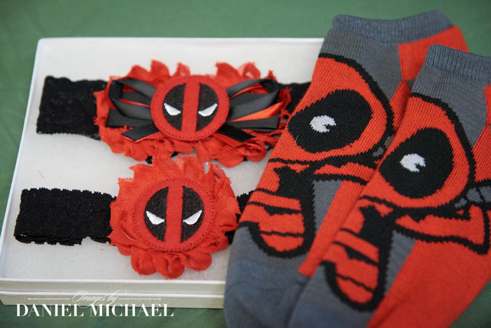 Deadpool Wedding Accessories