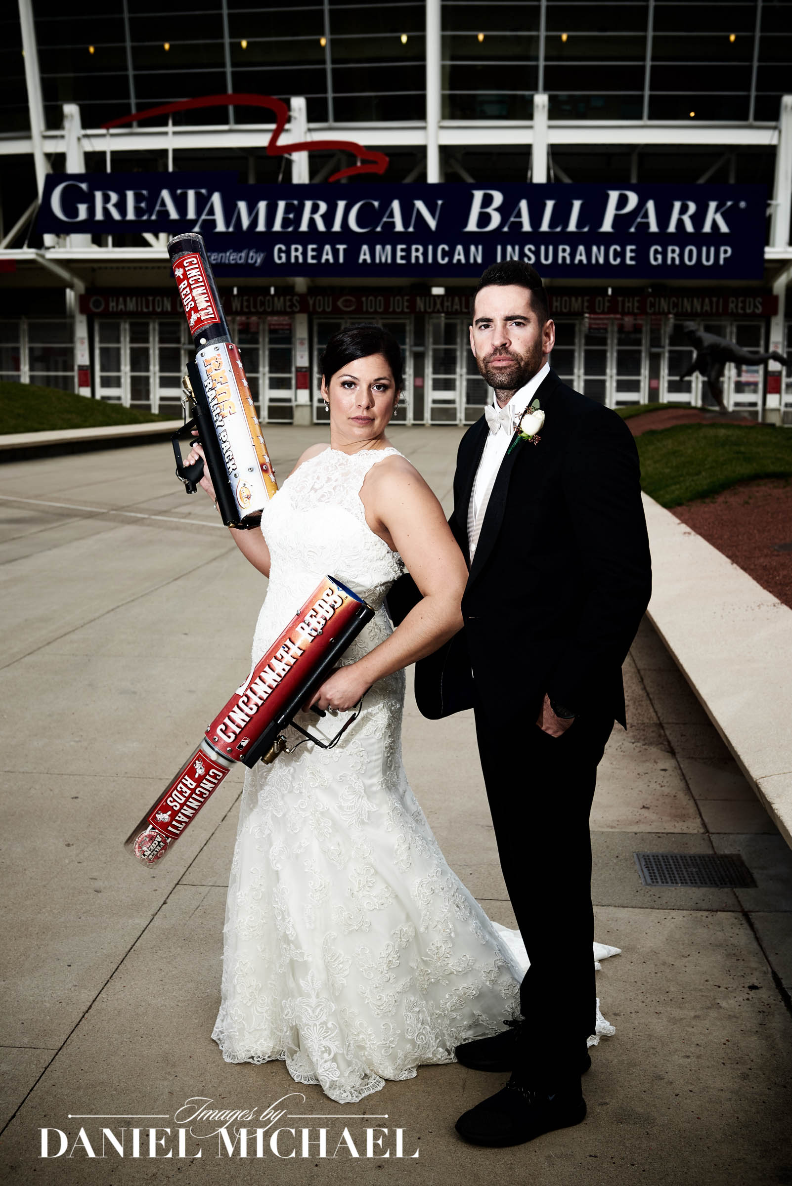Reds Rally Pack Wedding