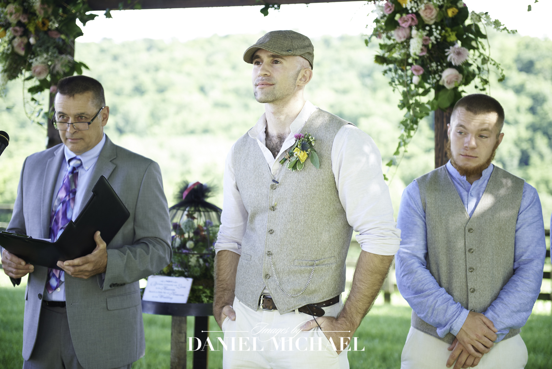 Richwood on the River Wedding Ceremony Photo