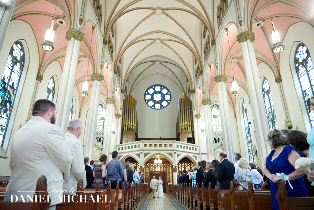 St Francis DeSales Wedding