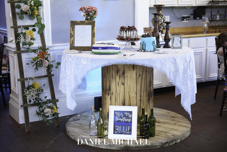 Wedding Cake Table Photo