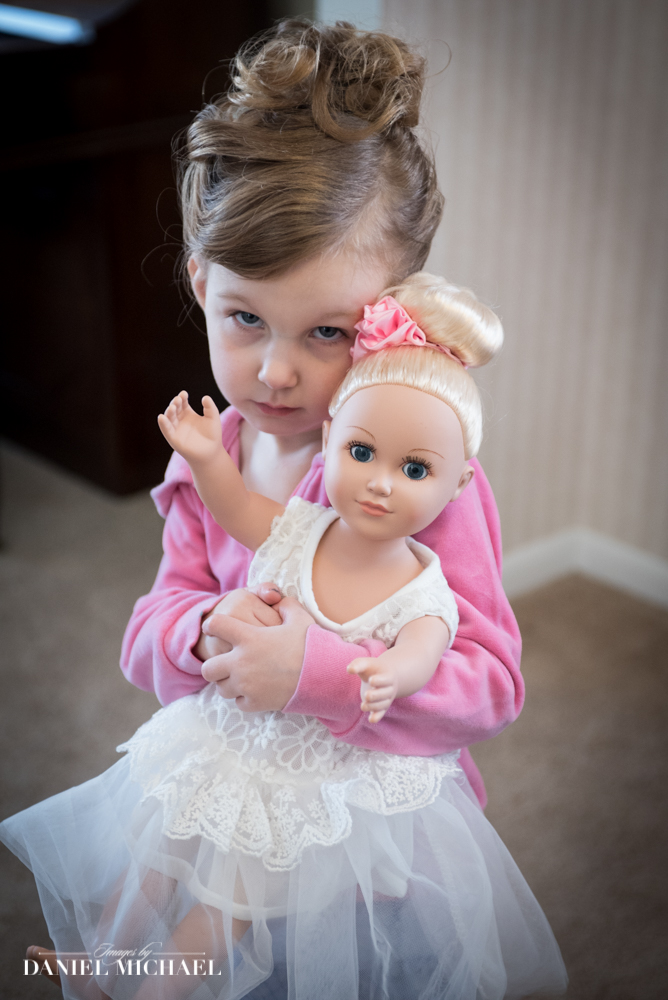 Flower Girl Bride Doll