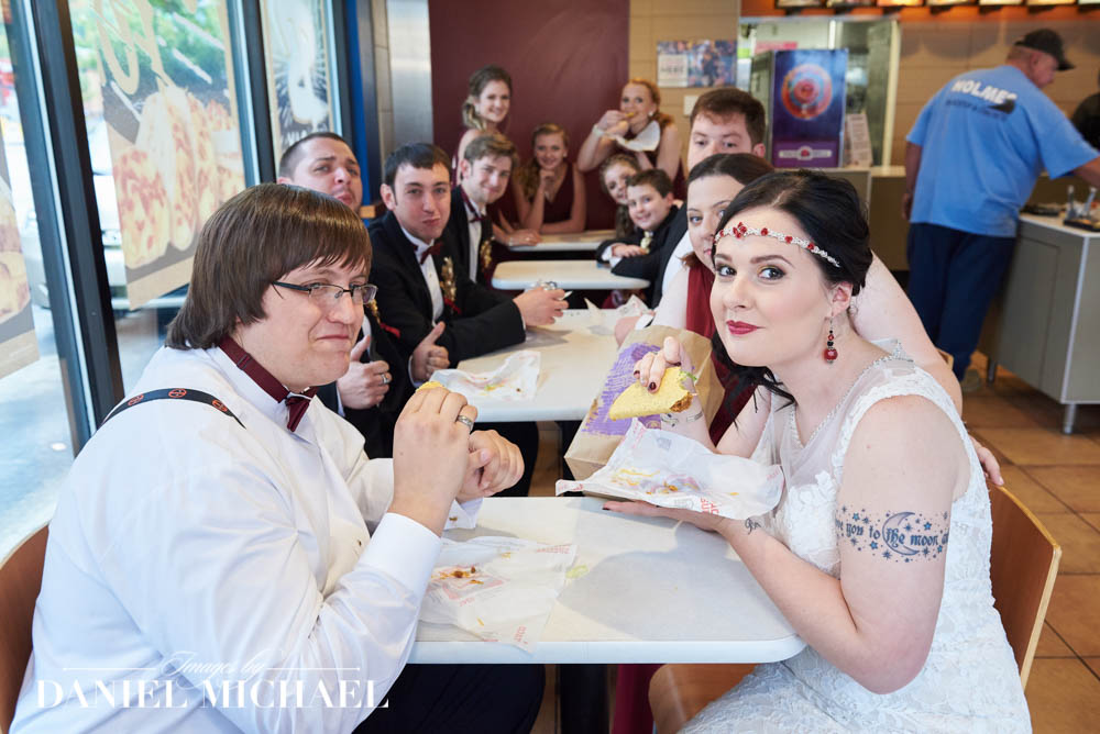 Taco Bell Wedding Photography