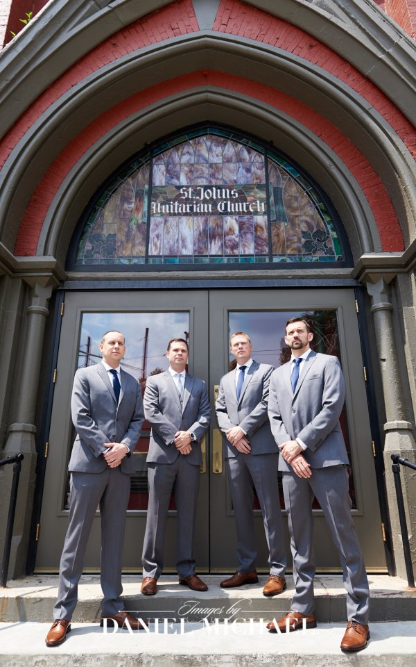 Groomsmen at Transept