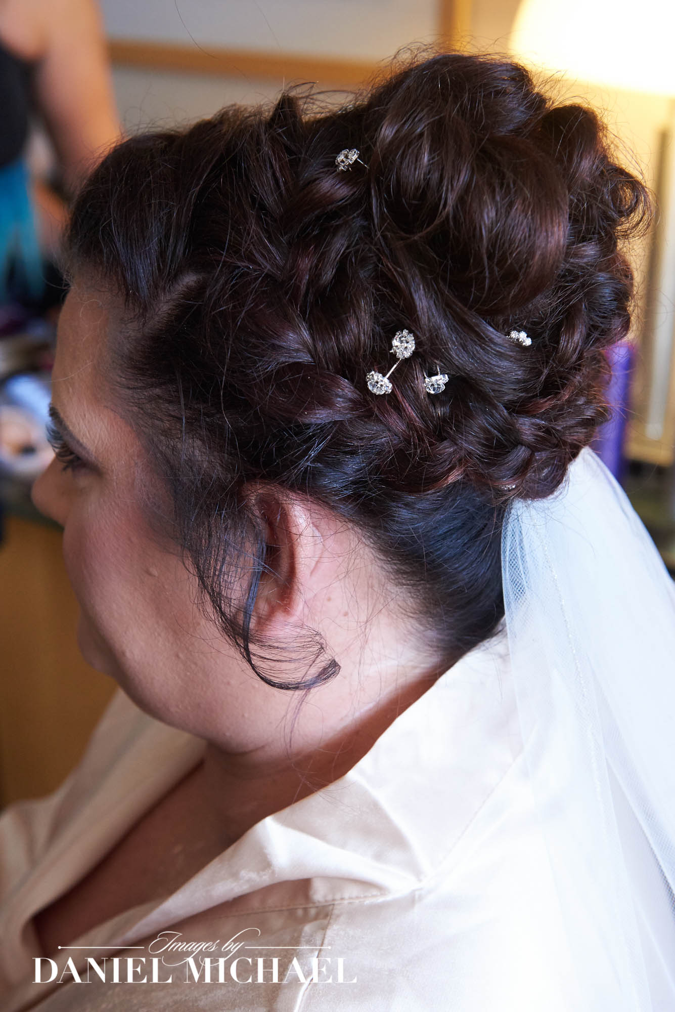 Wedding Hair Photography