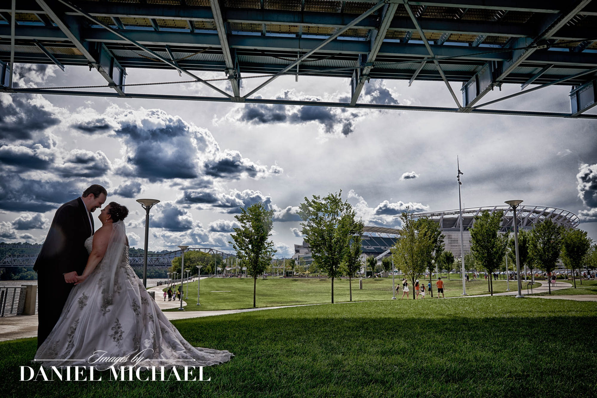 Wedding Photography Paul Brown Stadium