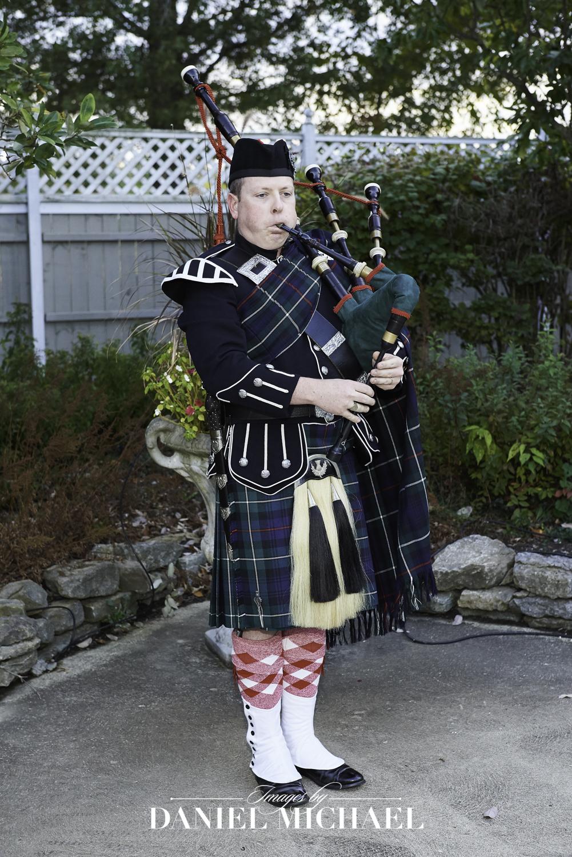 Bagpipes at Wedding Photography