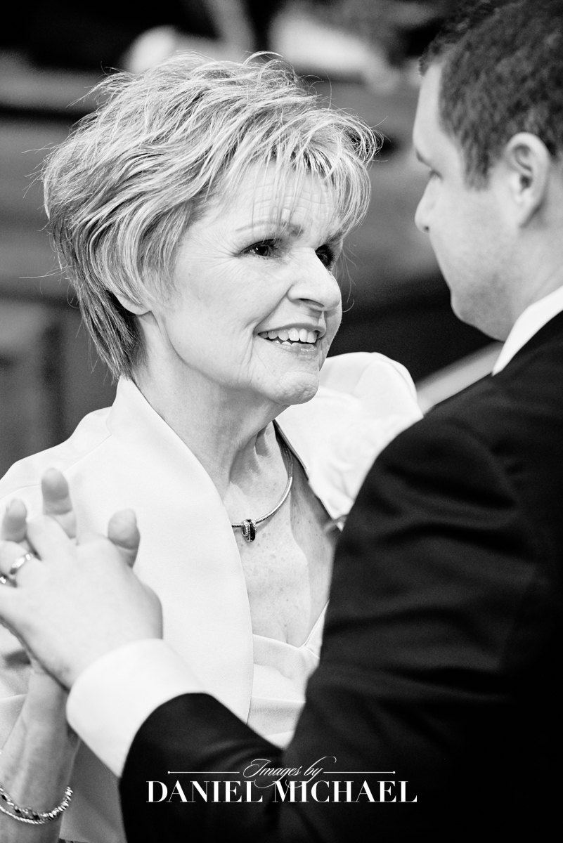 Mother Son Wedding Reception Photography