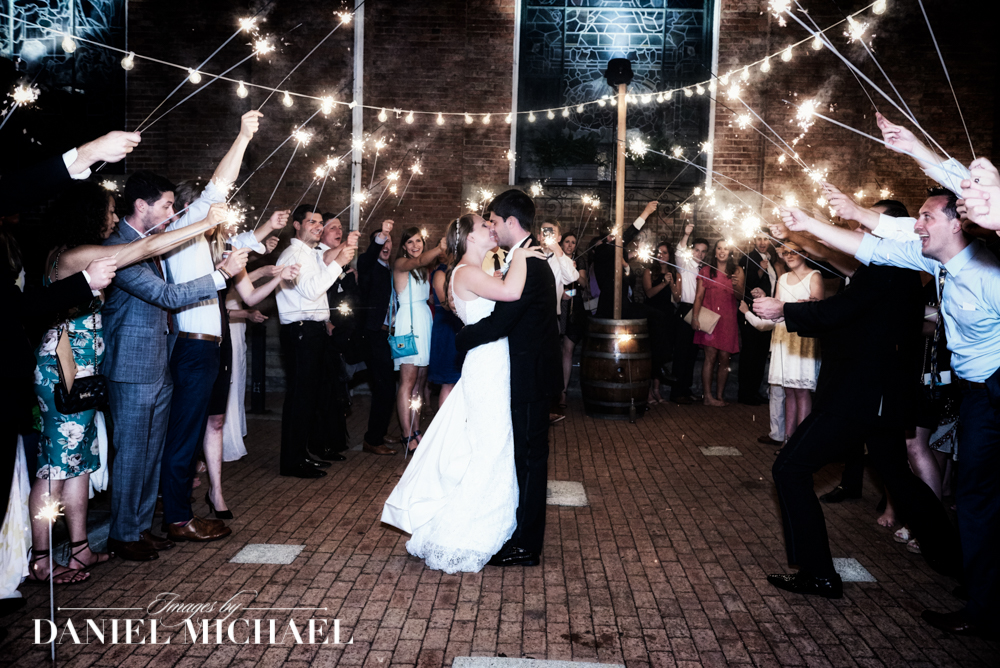 Sparkler Exit Wedding Photographers