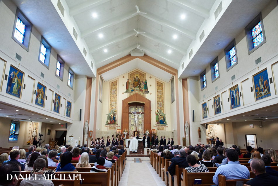 St Dominic Wedding Ceremony