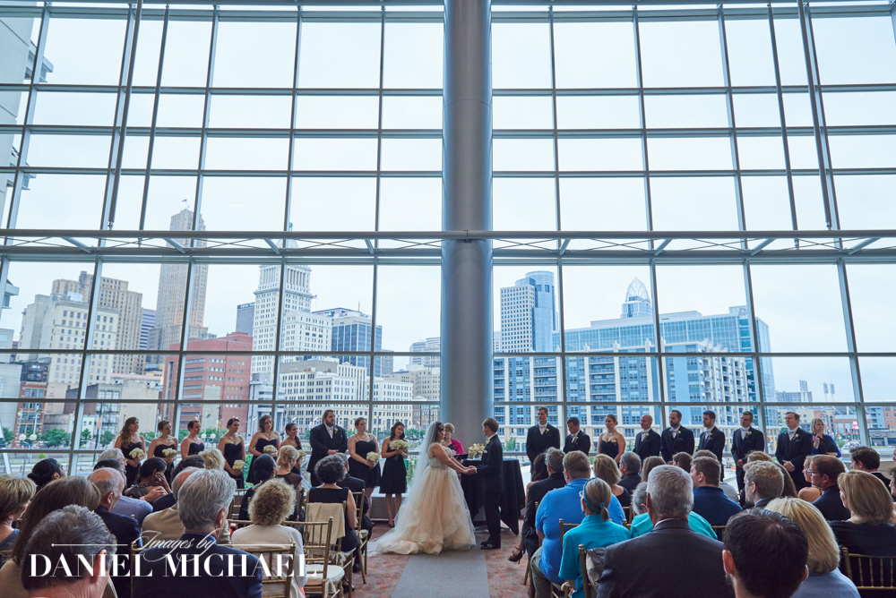 Paul Brown Stadium Wedding Ceremony Venue