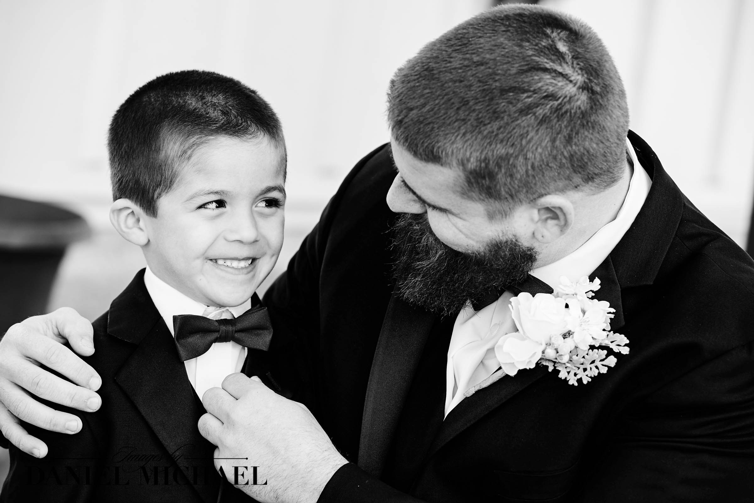 Father Son Wedding Photos