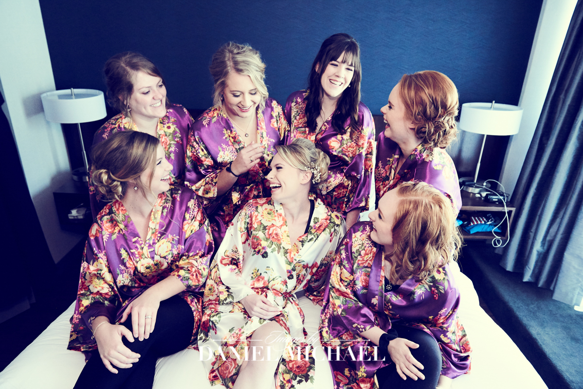 Bridesmaids Robes Photographer