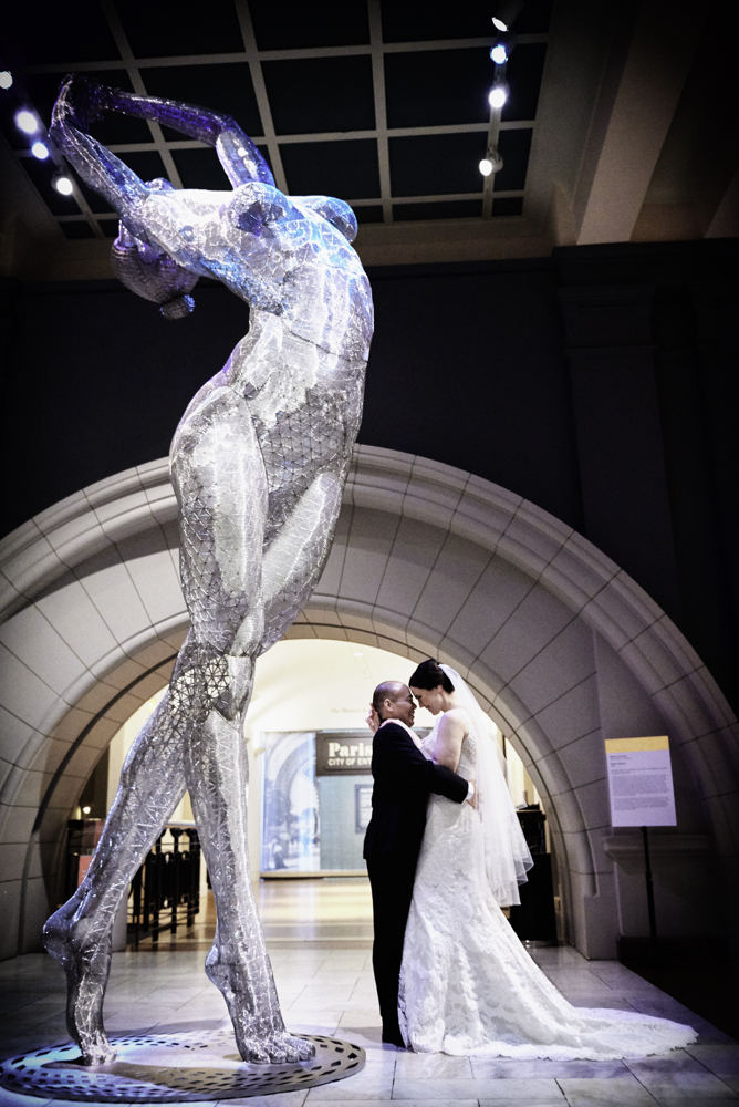 Cincinnati Art Museum Wedding Photography