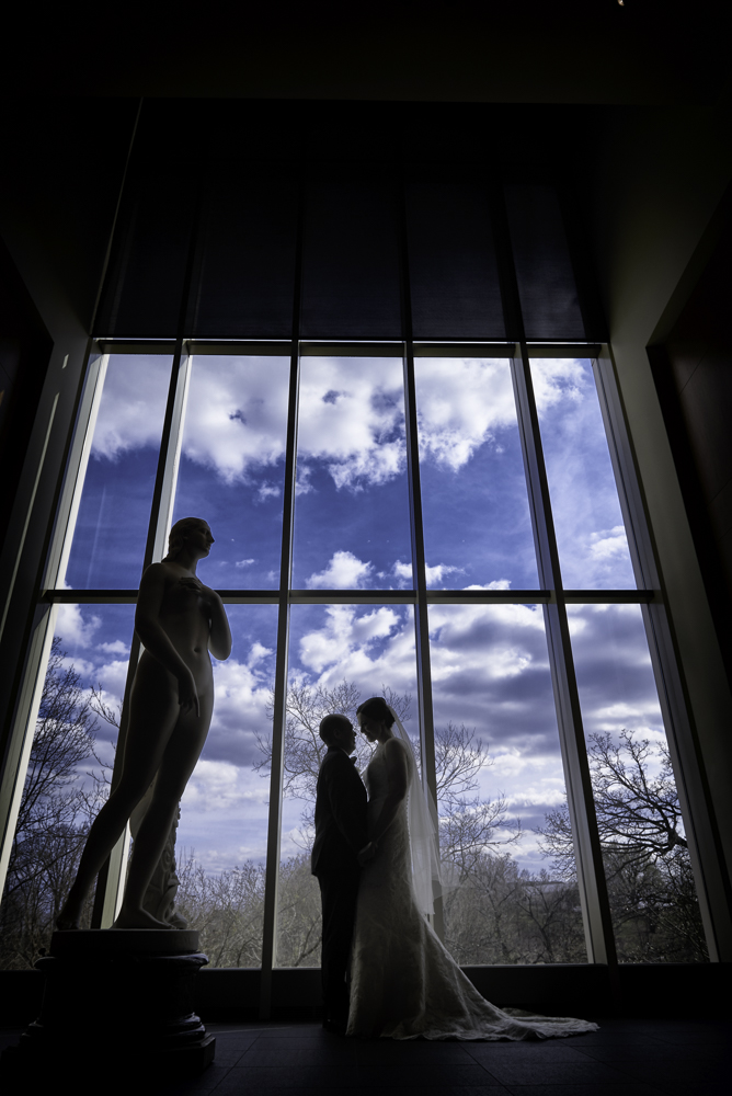 Cincinnati Art Museum Wedding Photographer