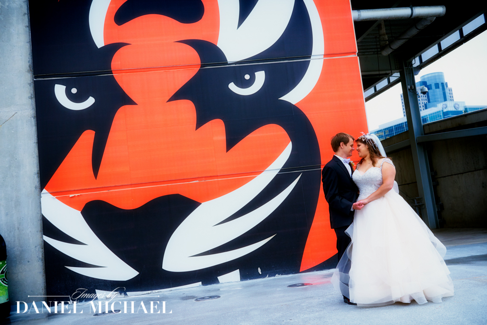 Paul Brown Stadium Wedding Photographers