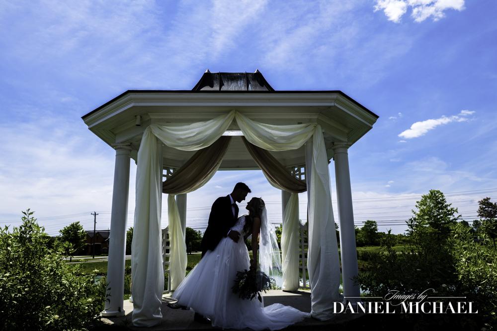 Muhlhauser Barn Gazebo Wedding Photography