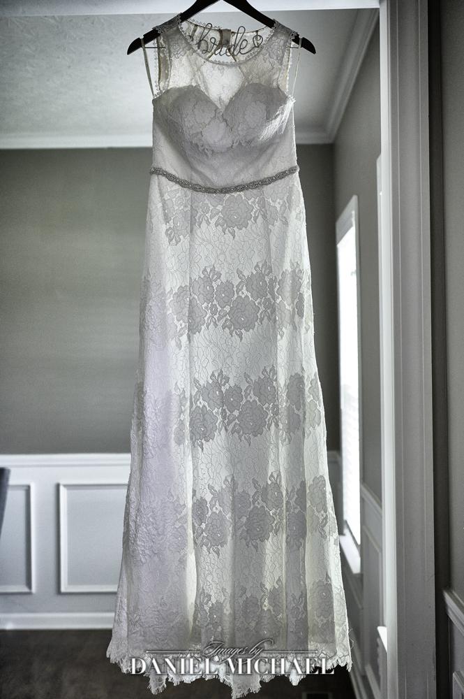 Wedding Dress Hanging Photography