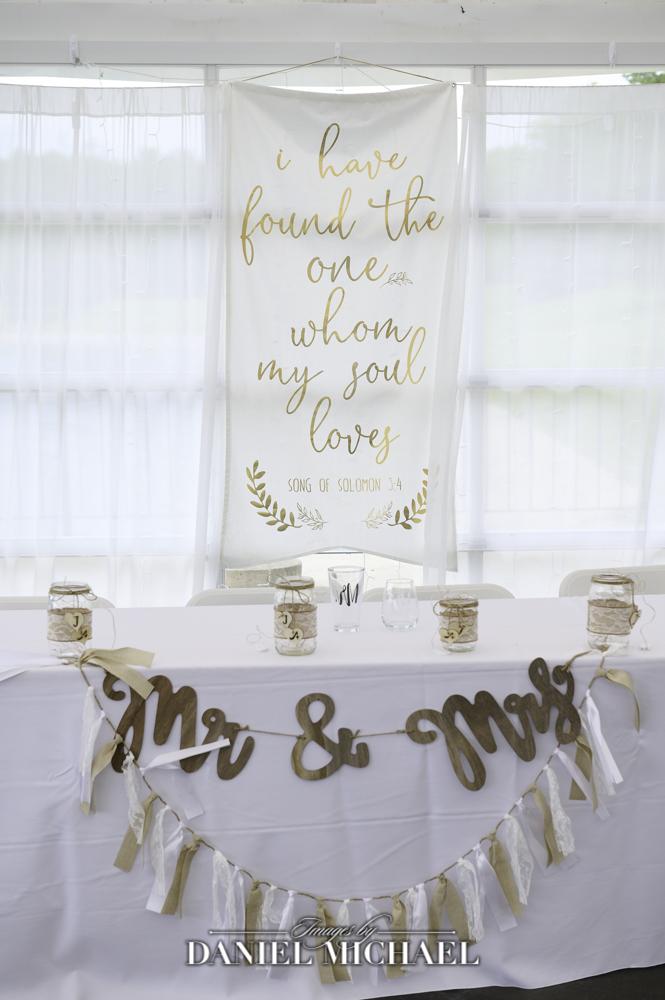 Wedding Decor for Head Table