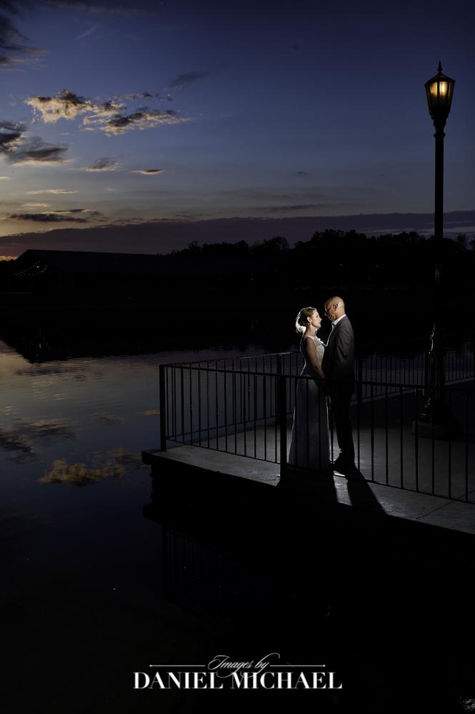 Lake Lyndsay Beach House Sunset Wedding