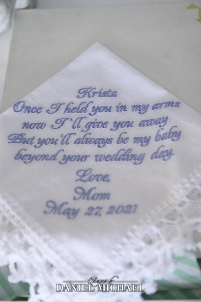 Custom Handkerchief from mom